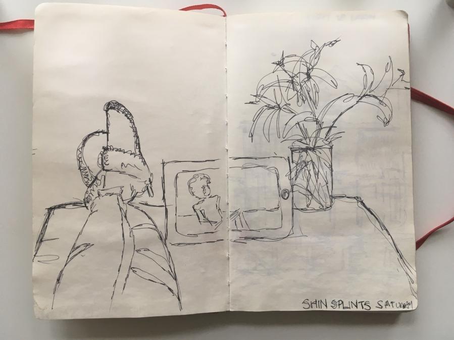 1st Sketchbook page