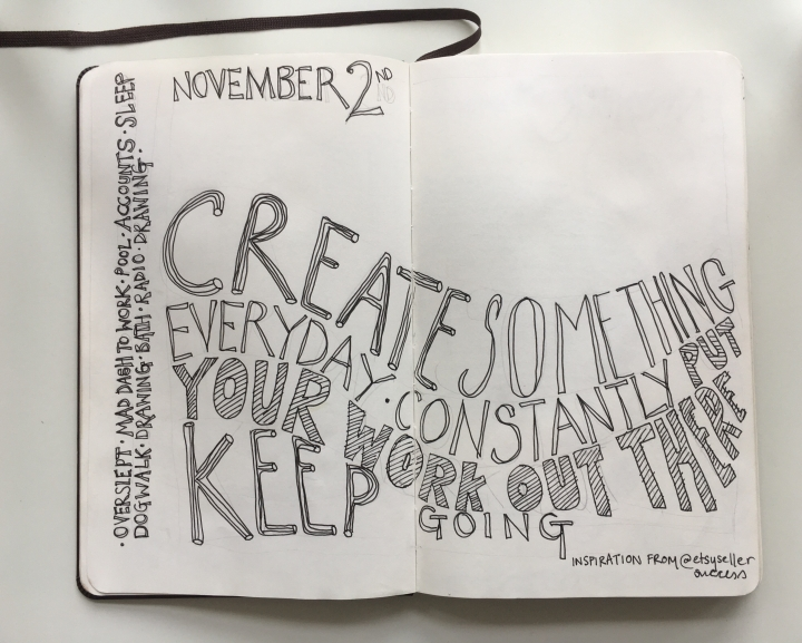Why I Keep A Daily Sketchbook & Why I Think You Should Too.
