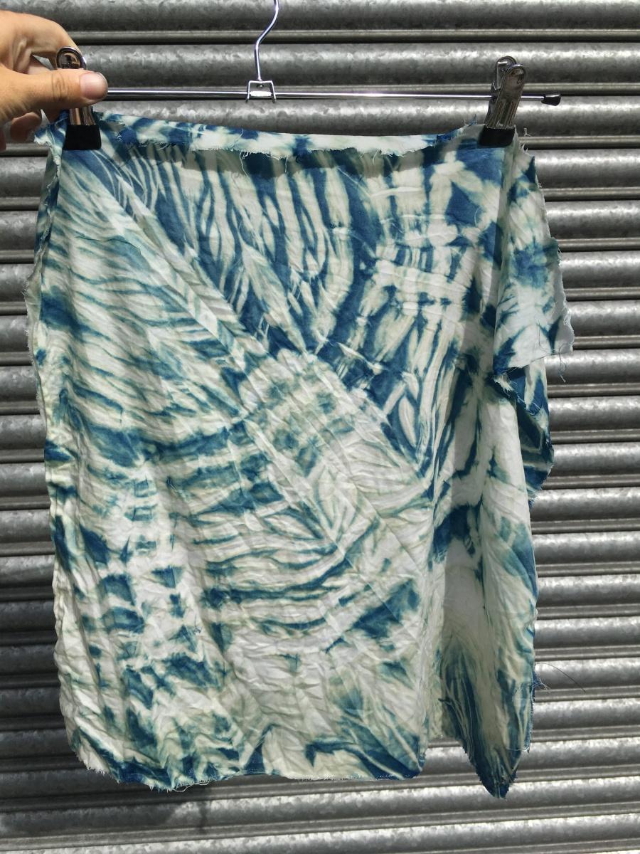 Indigo Dye Sample 3