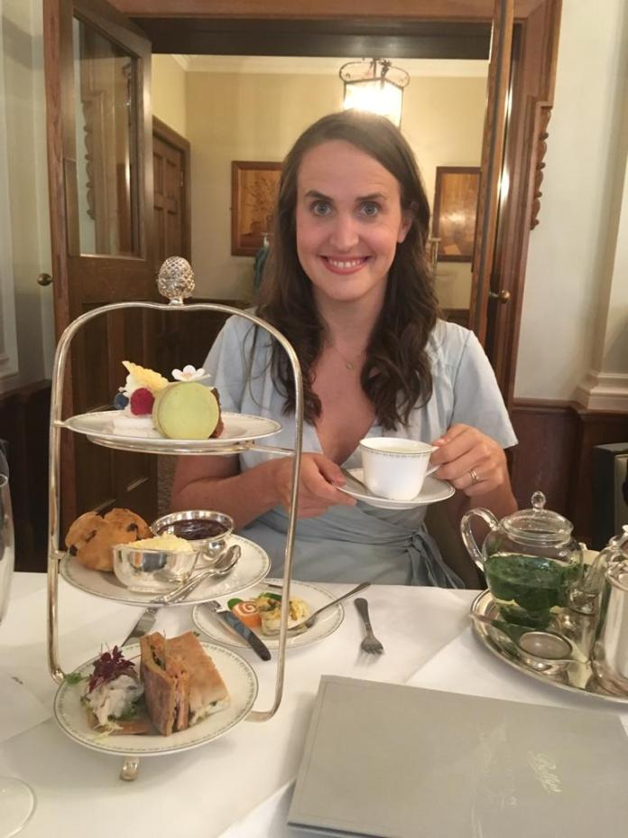 Eve at Bettys