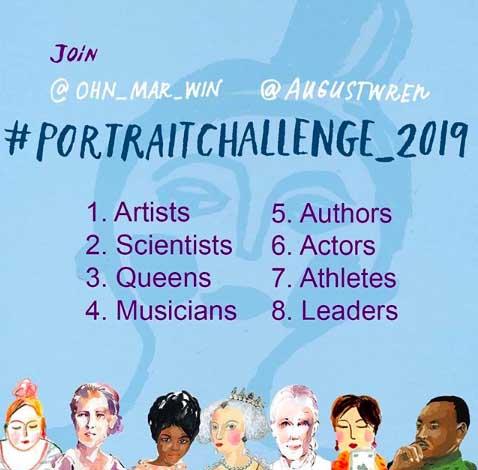 #Portrait Challenge 2019
