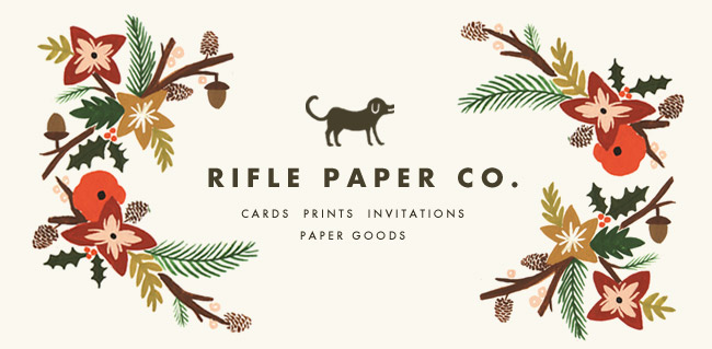 Inspired by Rifle PaperCo.