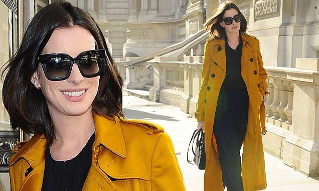 Excl - Anne Hathaway London